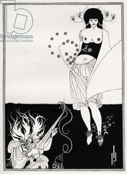 The Stomach Dance, 1905 (illustration)