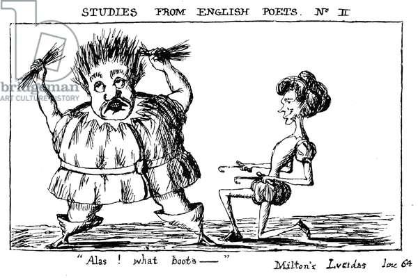 Lewis Carroll 's parody of John Milton