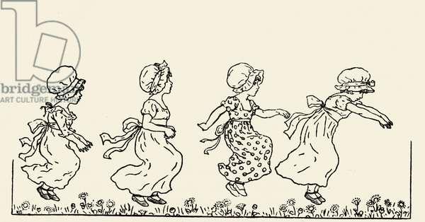 Kate Greenaway' s Marigold Garden