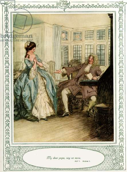 Oliver Goldsmith 's play She Stoops to Conque