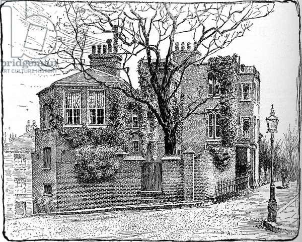 George du Maurier's house