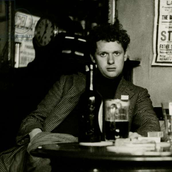 Dylan Thomas - portrait