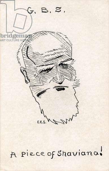 George Bernard Shaw - caricature