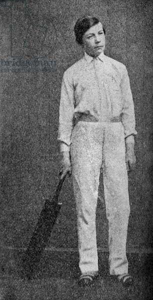 Sir Arthur Conan Doyle, age 14