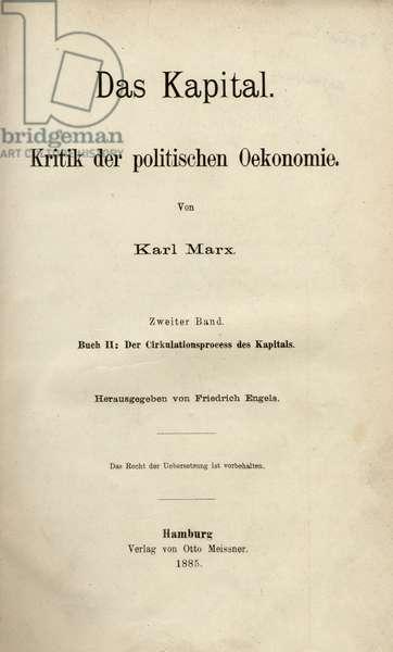 Karl Marx 's Das Kapital