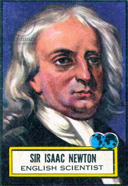 Isaac Newton - portrait