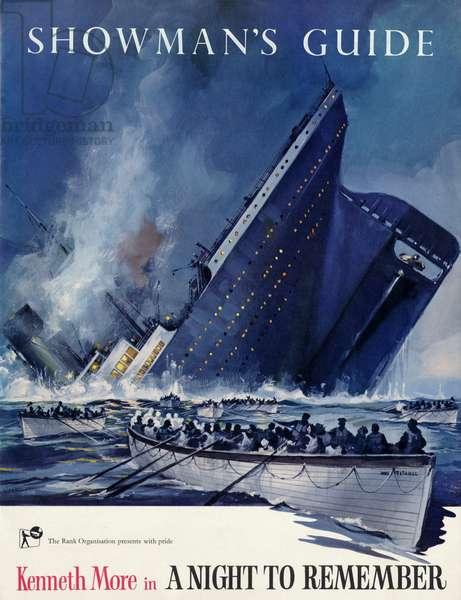 Titanic sinking on the