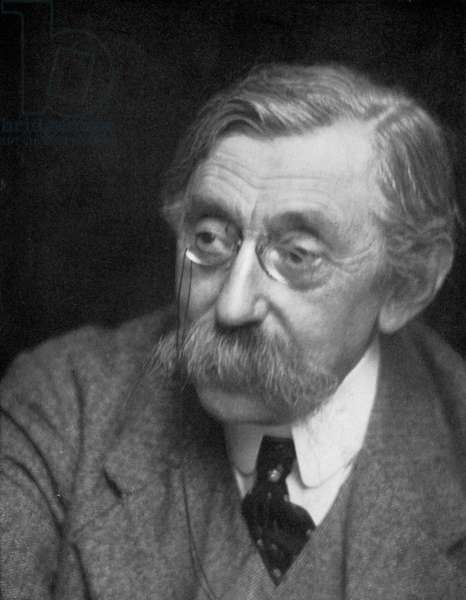 Emile Verhaeren (b/w photo)