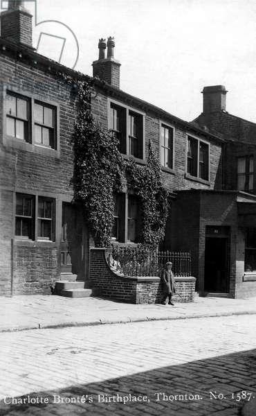 Charlotte   Brontë's birthplace, Thornton