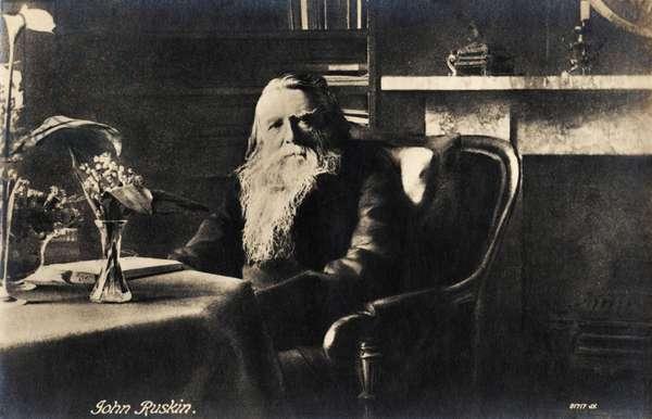 John Ruskin portrait English