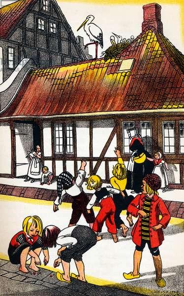 Hans Christian Andersen 's 'The Storks'