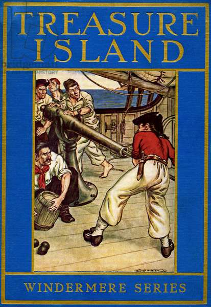 Robert Louis Stevenson 's Treasure Island