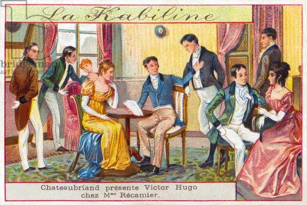 Literary salon - illustration