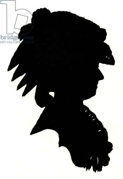 Marie Antoinette silhouette Queen