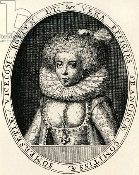Frances Carr, Countess of Somerset