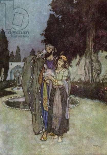 Rubaiyat of Omar Khayyam, 1910 (lithograph)