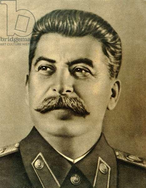 Joseph Stalin portrait Soviet