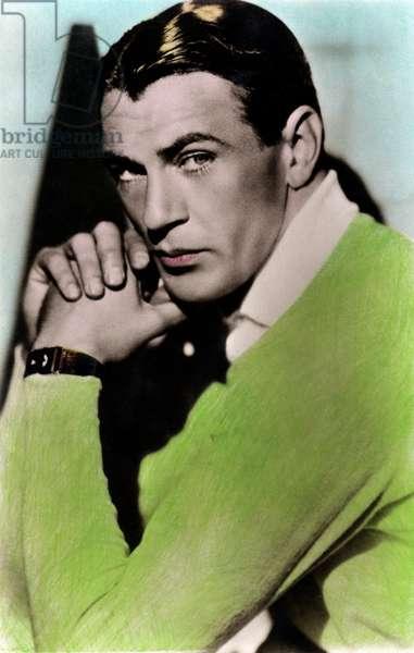 Gary Cooper - portrait