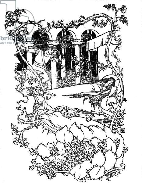 Sleeping Beauty illustrated by Walter Crane