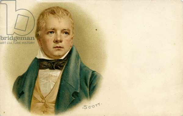 Sir Walter Scott - portrait