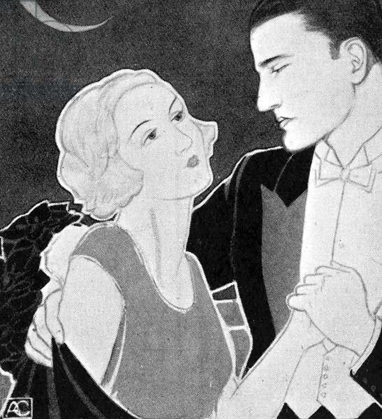 Twenties couple dancing -
