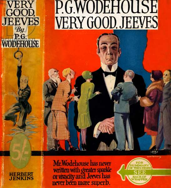 Very Good, Jeeves by P.G.Wodehouse
