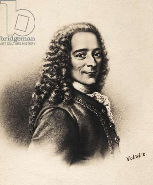 VOLTAIRE French poet and