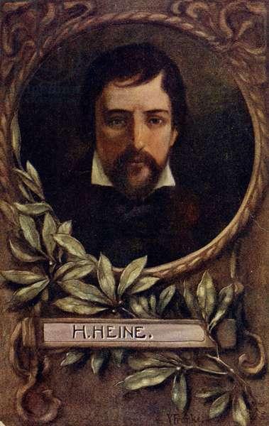 Heinrich Heine German poet