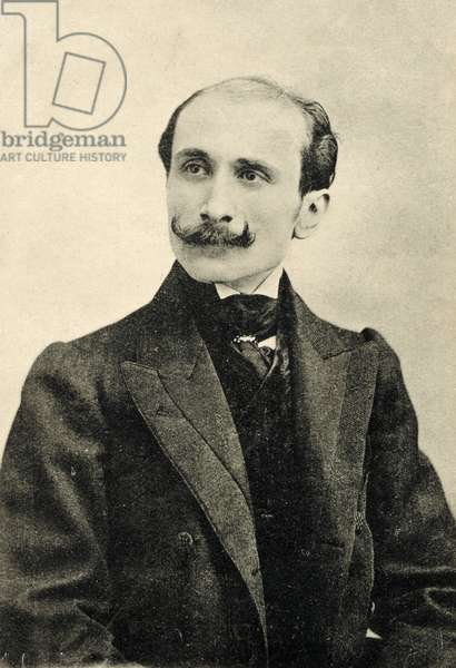 Edmond Rostand portrait French