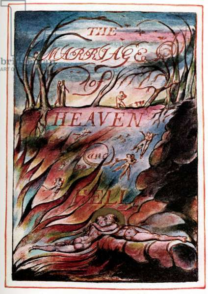 William Blake 's 'The Marriage of Heaven and Hell'