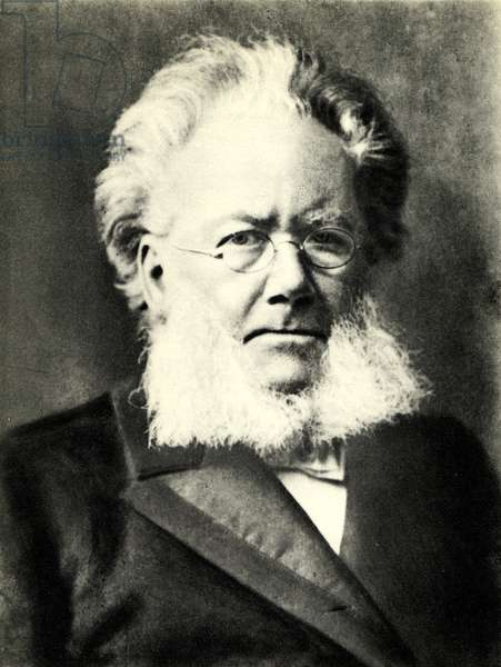 Henrik Ibsen portrait Wrote