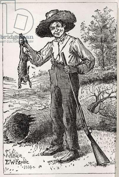'The Adventures of Huckleberry Finn' by Mark Twain