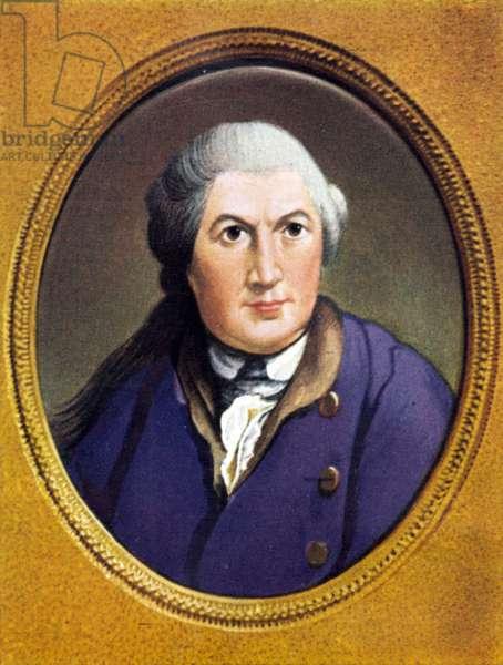 David Garrick Portrait of