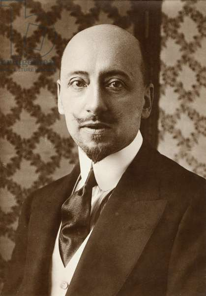Gabriele D'Annunzio - portrait