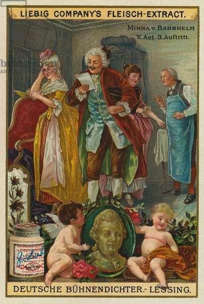 Minna von Barnhelm by Lessing