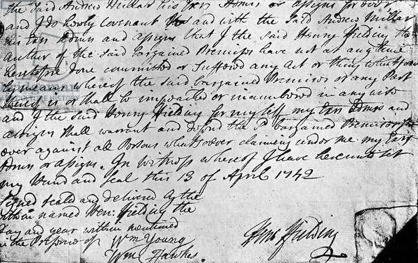 Henry Fielding's ' Joseph Andrews ' manuscript