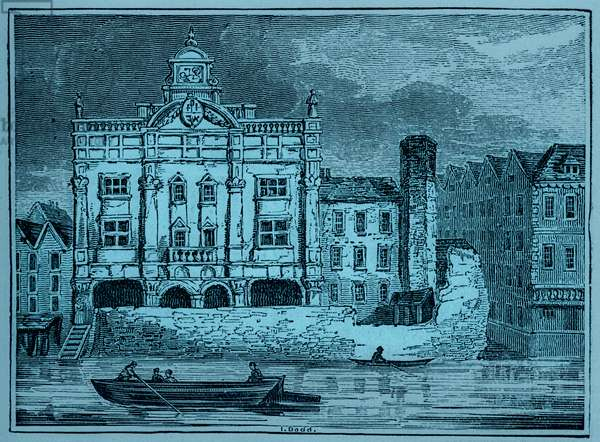 The Duke's Theatre - view overlooking the Thames river
