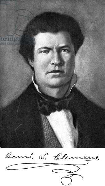 Mark Twain  aged 18