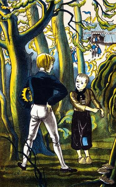 Hans Christian Andersen 's  'The Bell