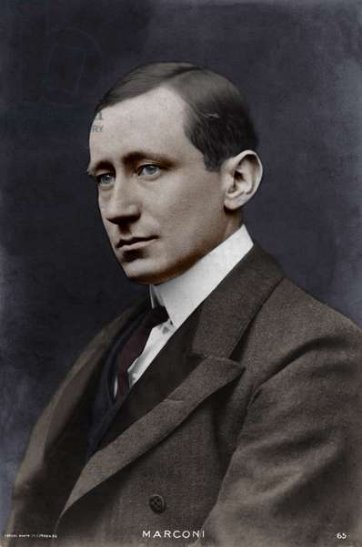 Guglielmo Marconi - portrait