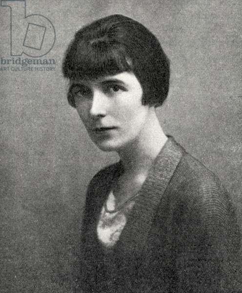 Katherine Mansfield - portrait