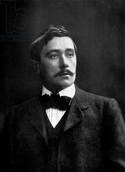 Maurice Maeterlinck  as young man