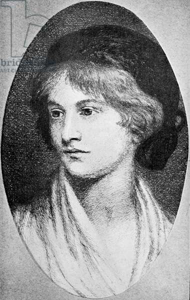 Mary Wollstonecraft Shelley - portrait