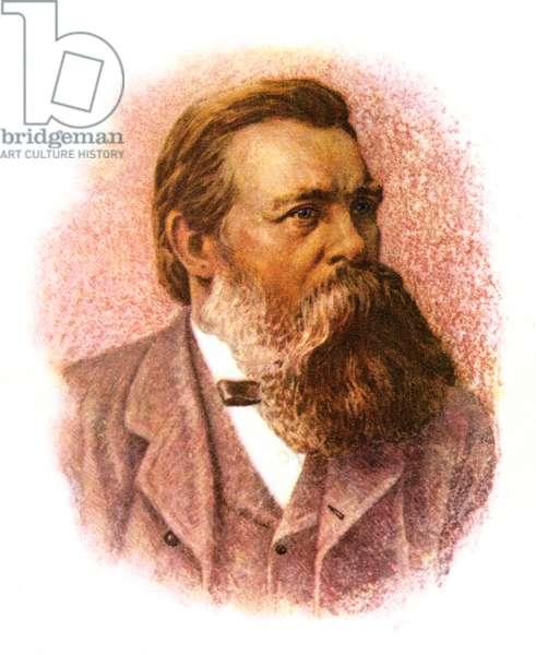 Friedrich Engels - portrait