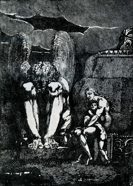 Frontispiece to 'America' by William Blake