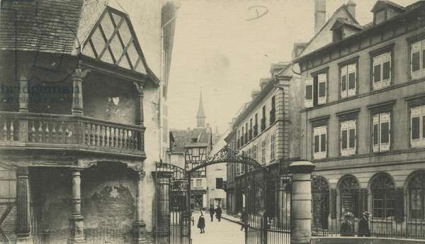 Old Jewish Quarter, Colmar, France