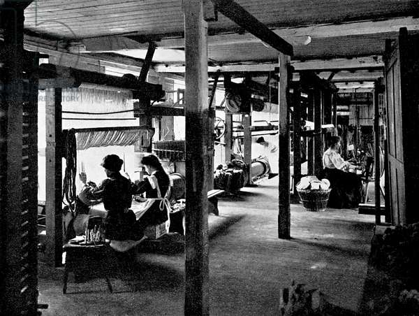 Tapestry Looms at Merton Abbey Works