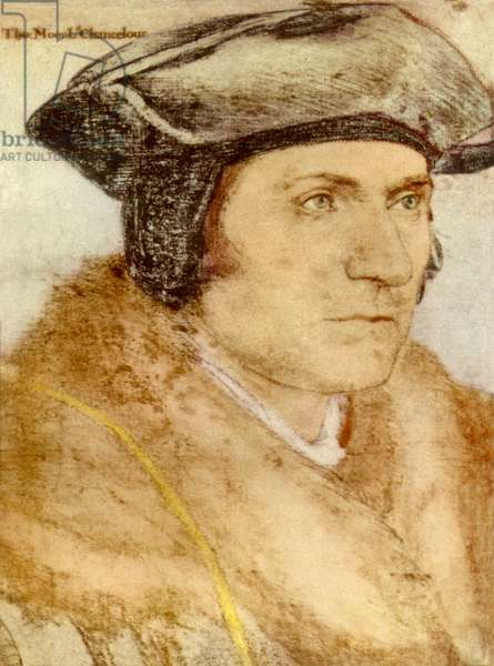 Sir Thomas More - from drawing by Holbein.