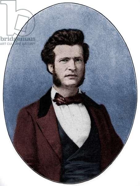 Mark Twain as  Mississippi River pilot