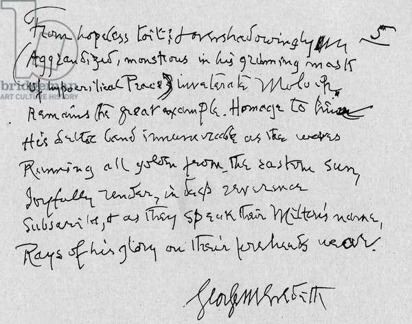 George Meredith - Verse
